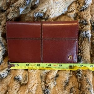 Leather Aigner Wallet